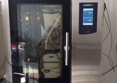 Horecamateriaal - oven restaurant Leventi